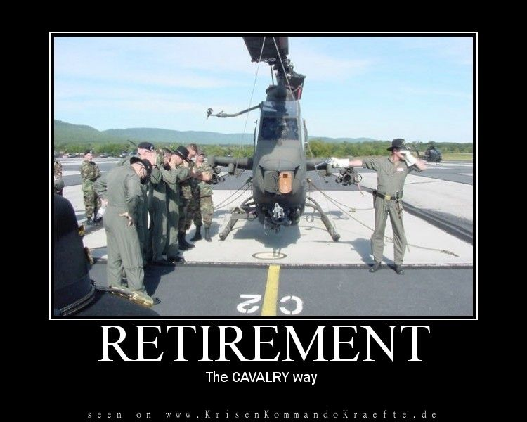 Retirement - The Cavalry Way ::. Ruhestand - Methode der Kavallarie