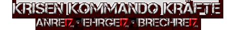 Krisen Kommando Kräfte - 17 Jahres Banner