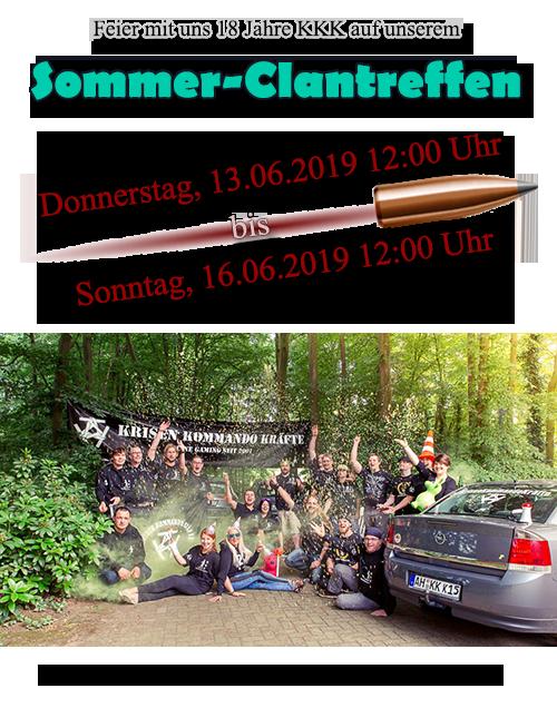 Sommer Clantreffen 2019 in Bramsche